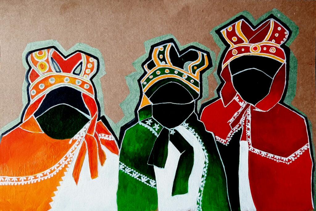 Painting of Three Kings